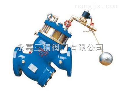 YQ98003型--过滤活塞式遥控浮球阀