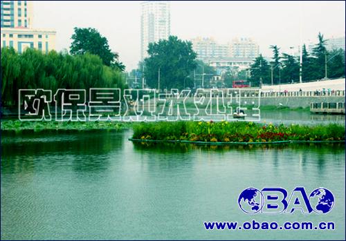 fland2516c复氧型生物浮岛,景观水处理设备,曝气机设备