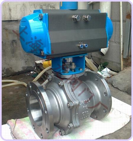气动切断阀,快速切断阀,上海气动切断阀厂家图片